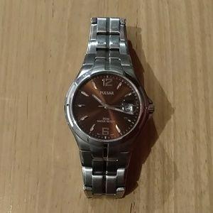 Pulsar men's watch stainless steel